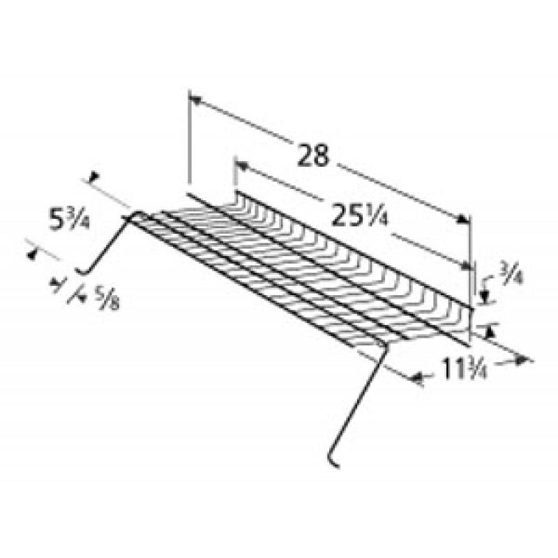 "9900109 Chrome Steel Warming Rack 25.25"" x 11.75"""