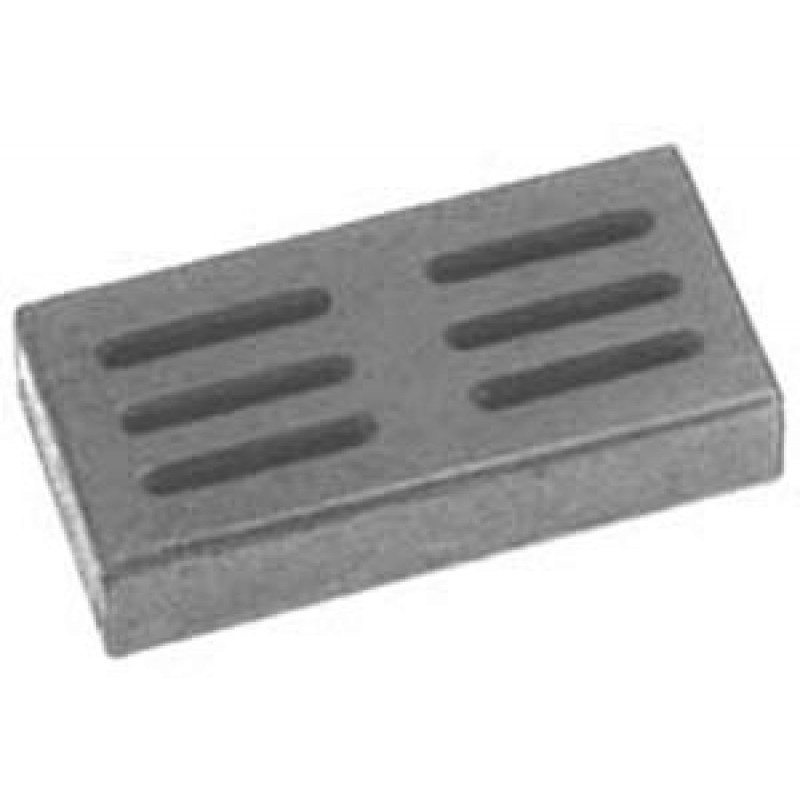 9900150 Cast Iron Smoker Box. Designed To Release Wood Smoke. 7.75in X 3.75in X 2in.