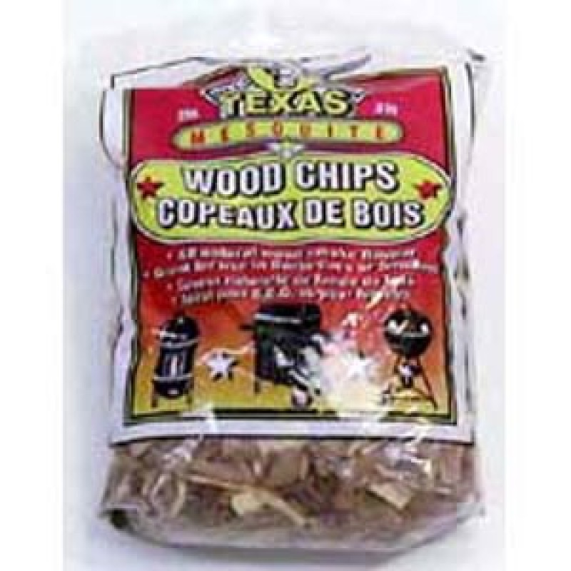 9900200 Texas Mesquite Flavor Wood Chips. 800G.