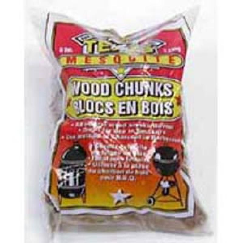 9900201 Mesquite Flavor Wood Chunks. 5 Lbs.