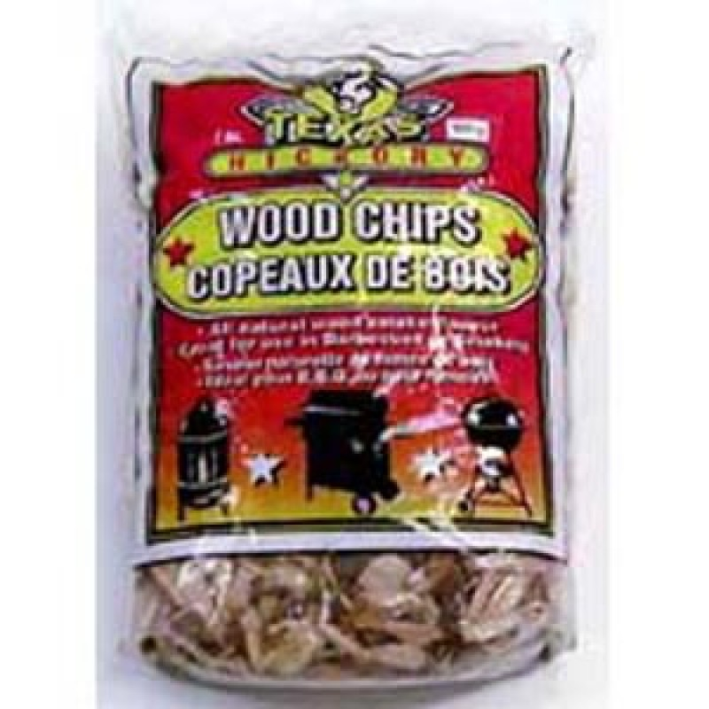 9900220 Texas Hickory Flavor Wood Chips. 800G.