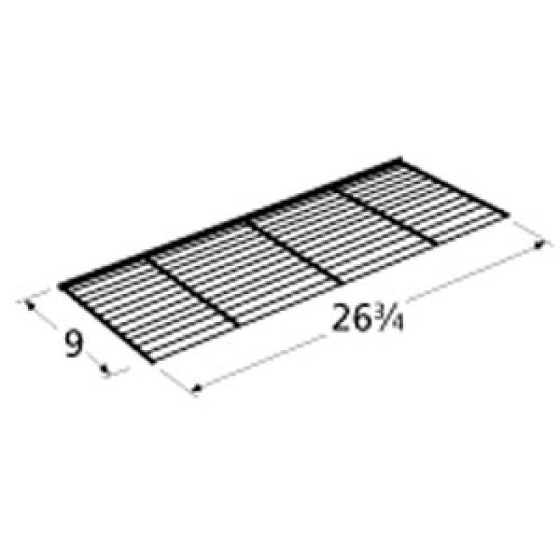 """9900360 Chrome Steel Wire Warming Rack 26.75"""" x 9"""""""