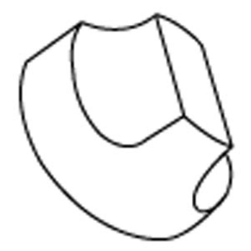 80000035 Charbroil Control Knob. D = 6.