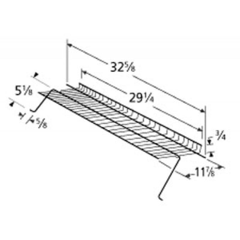 "4156450 Charbroil Chrome Steel Warming Rack 29.25"" x 11.875"""