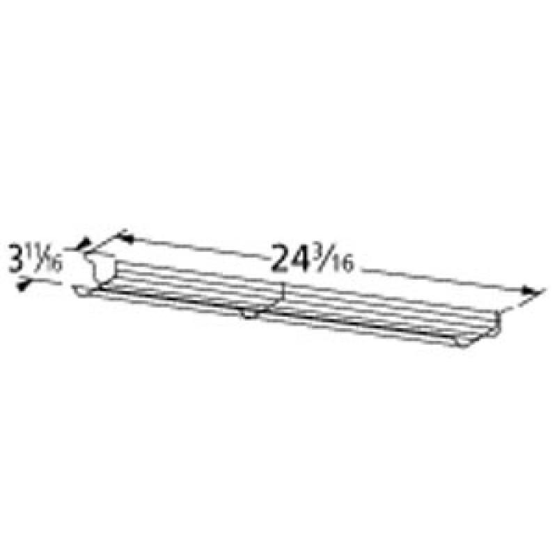 """9902346 Chrome Steel Wire Warming Rack 24.1875"""" x 3.6875"""""""