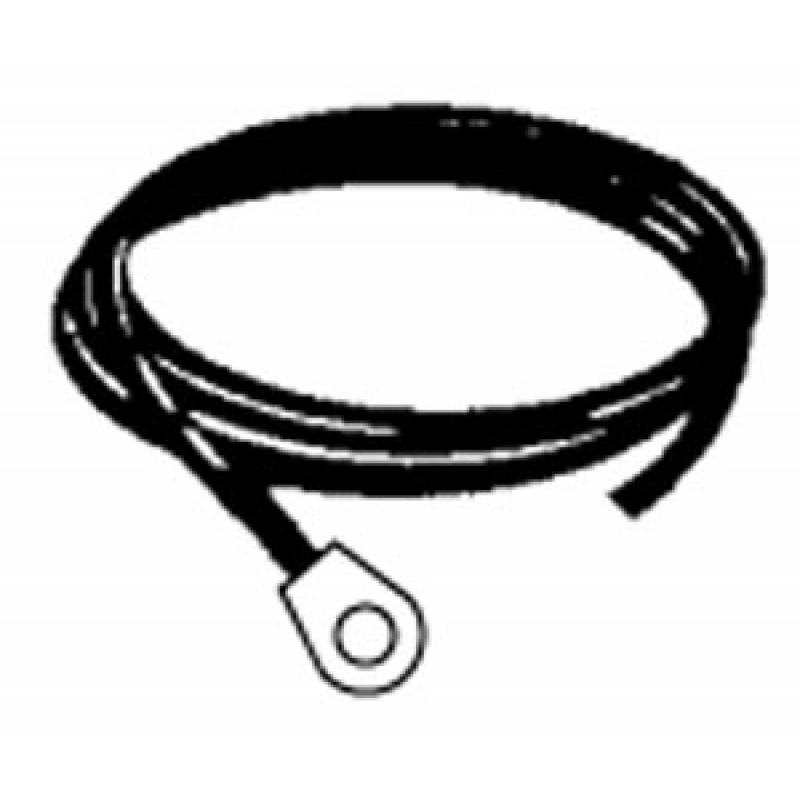 9903620 Ground Wire With Female Spade And Eye Connectors, For Use With 1.5V Spark Generators