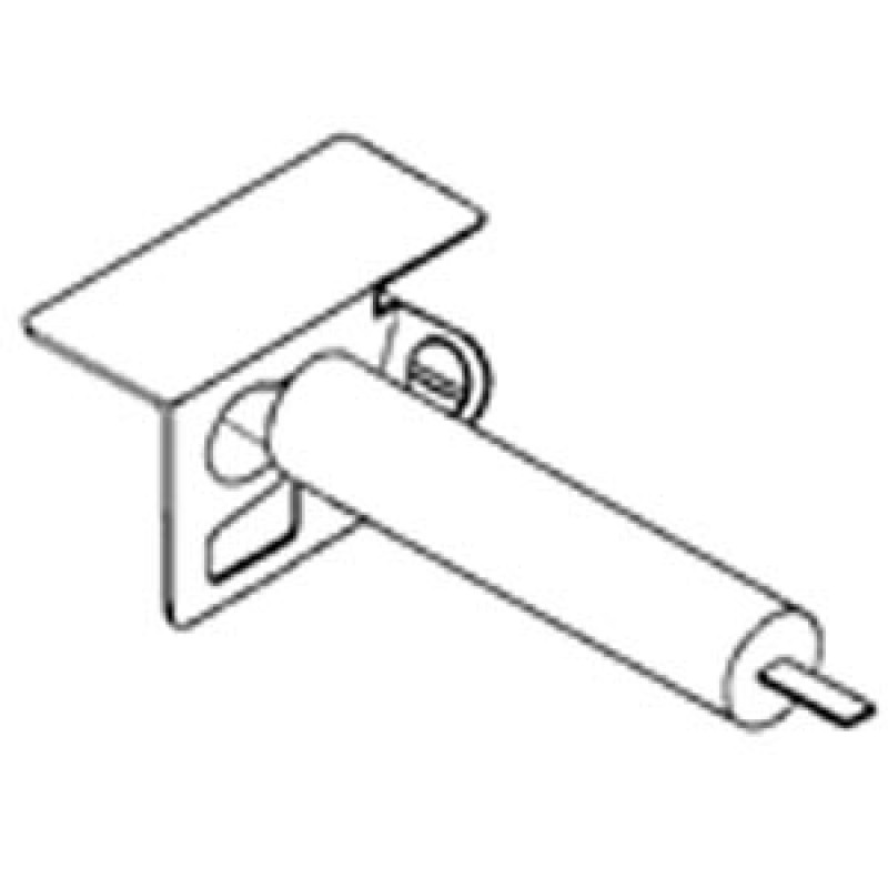 4157098 Charbroil Ignitor Mounting Bracket With Electrode For Charbroil