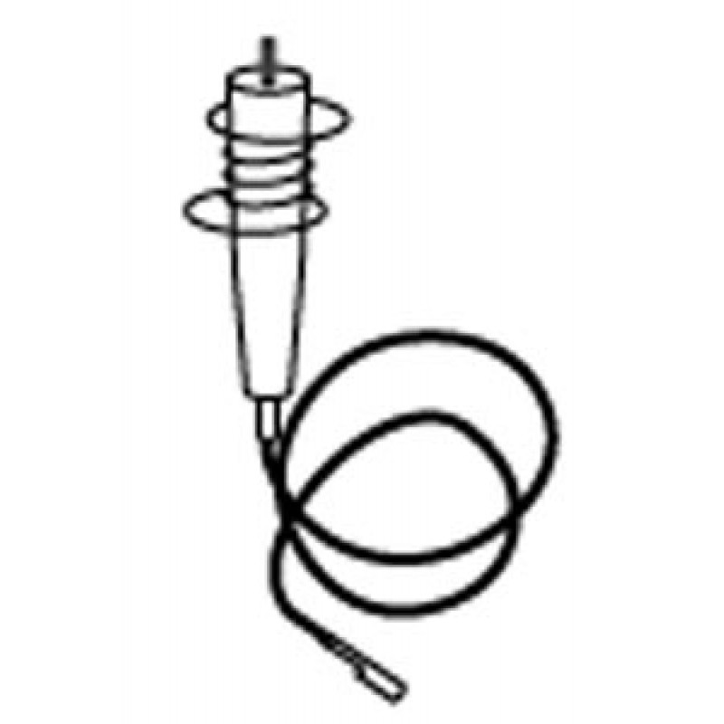 9904510 Ignitor Electrode With Mounting Spring And Wire