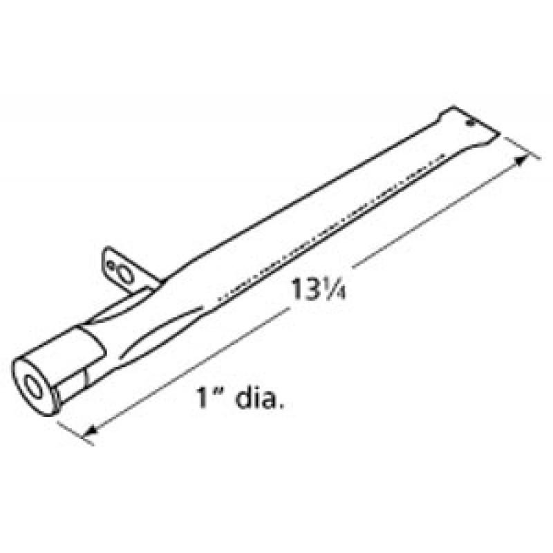 "9910221 Stainless Steel Burner 13.25"" x 1"""