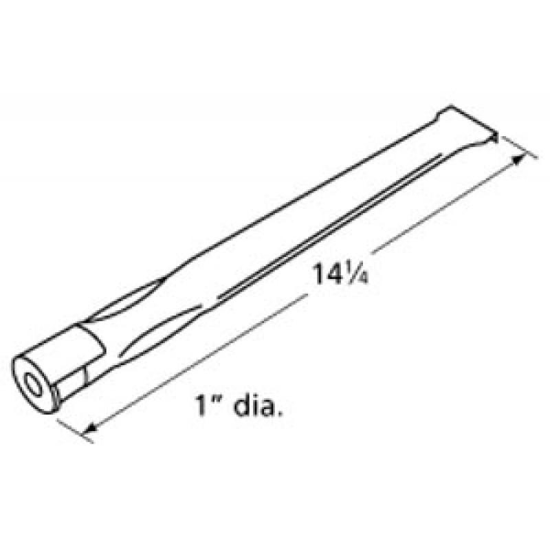 "9910261 Stainless Steel Burner 14.25"" x 1"""