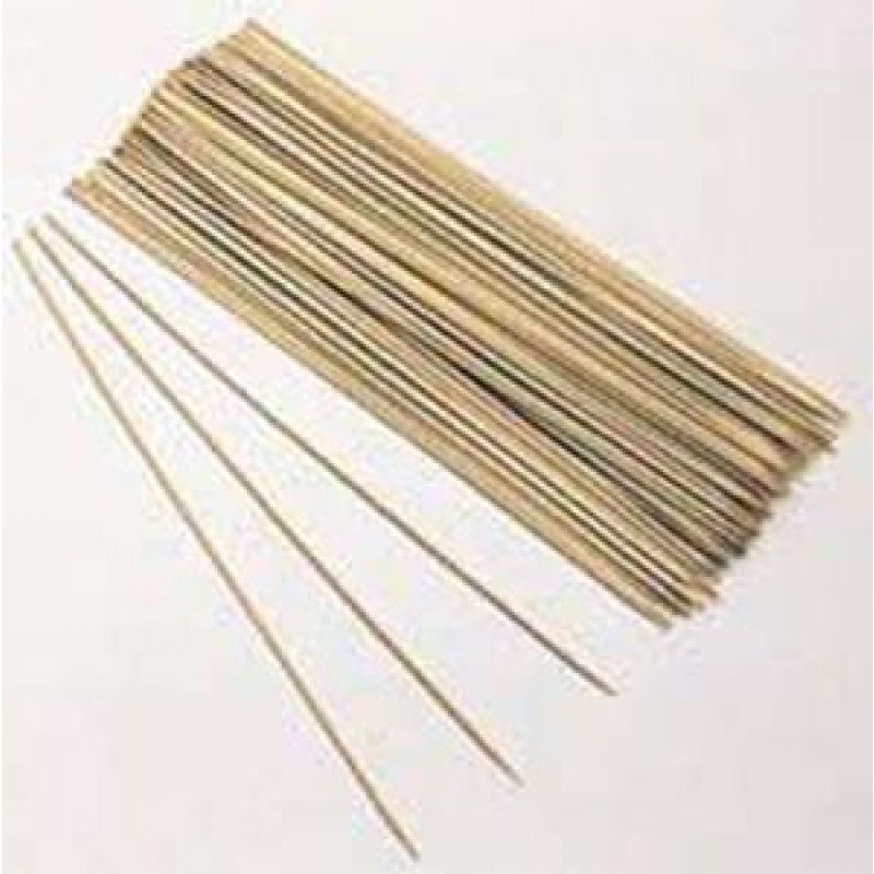 9911060 10in Bamboo Shish-Ke-Bab Skewers. 100 Per Package.