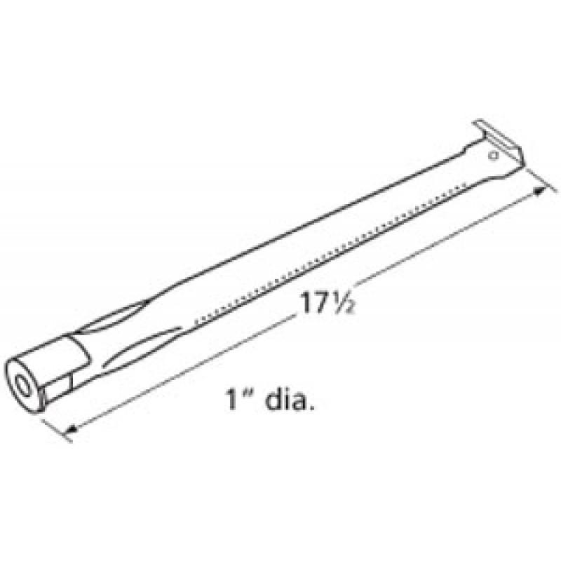 "9913211 Stainless Steel Burner 17.5"" x 1"""