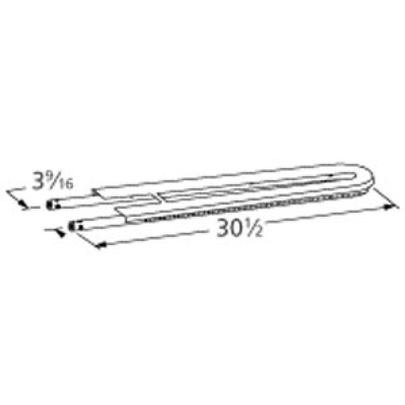 "9913902 Stainless Steel Burner 30.5"" x 3.5625"""