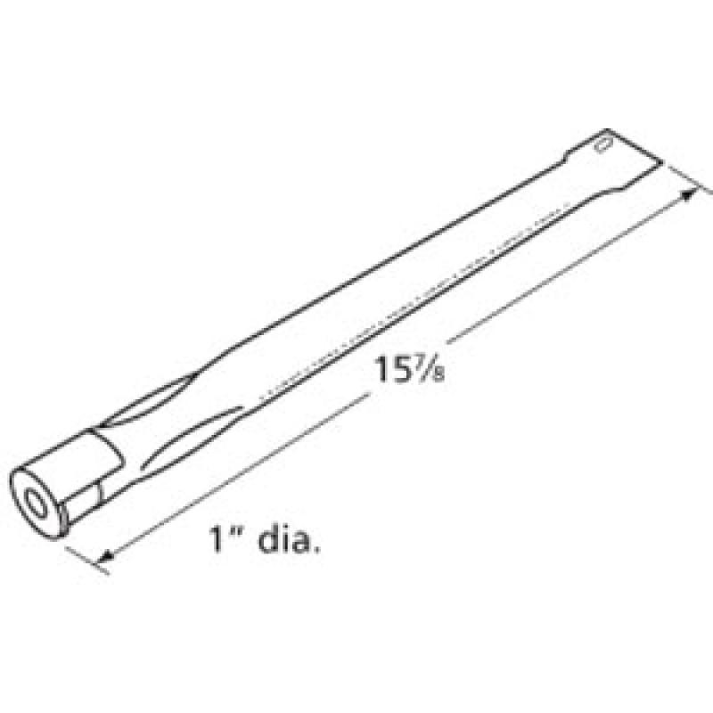 "9914051 Stainless Steel Burner 15.875"" x 1"""