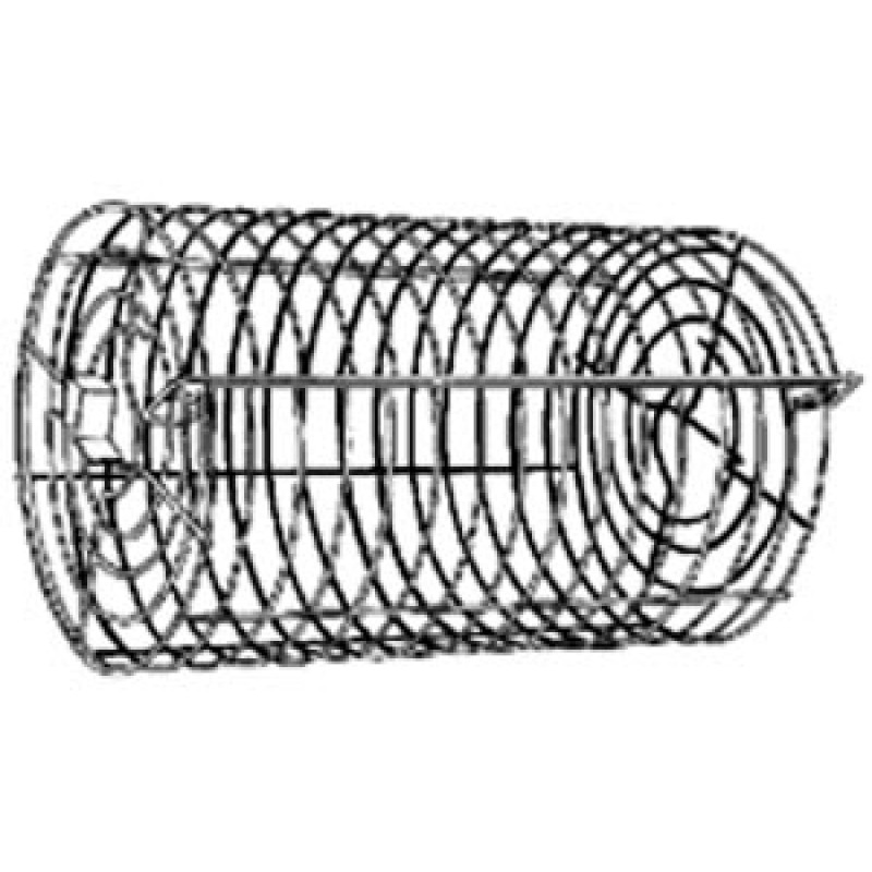 9914774 **DISCONTINUED** ( Can Use 9924764 ) Deluxe Non-Stick Round Tumble Basket. Attaches To Rotisserie.