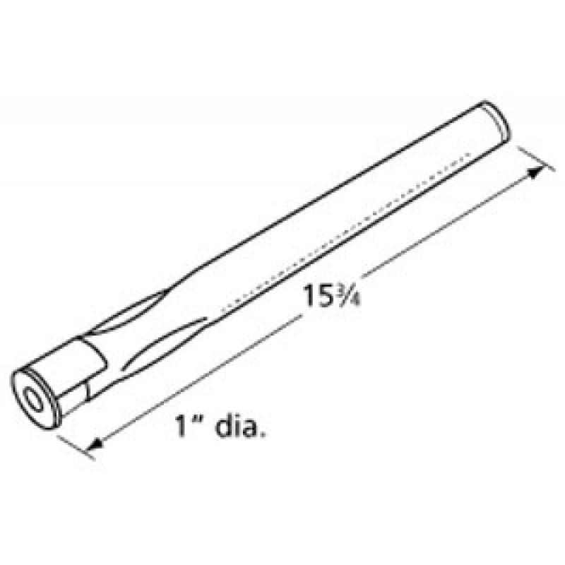 "9915691 Stainless Steel Burner 15.75"" x 1"""