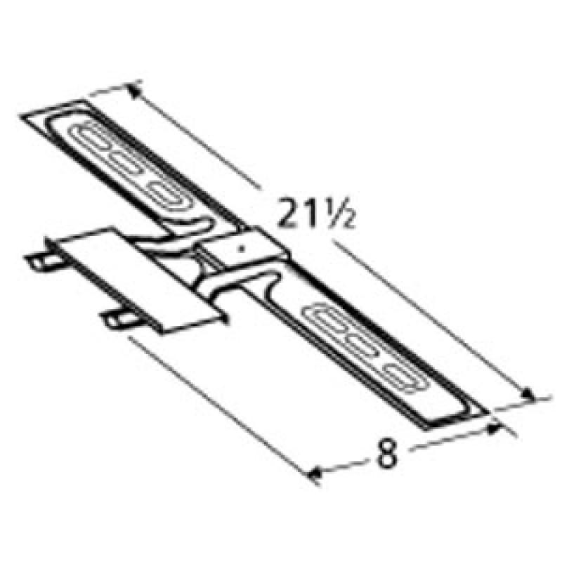 "1441 02105 Sunbeam Stainless Steel Burner 21.5"" x 8"""