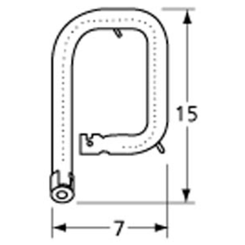 "99162R1 Stainless Steel Burner 15"" x 7"""