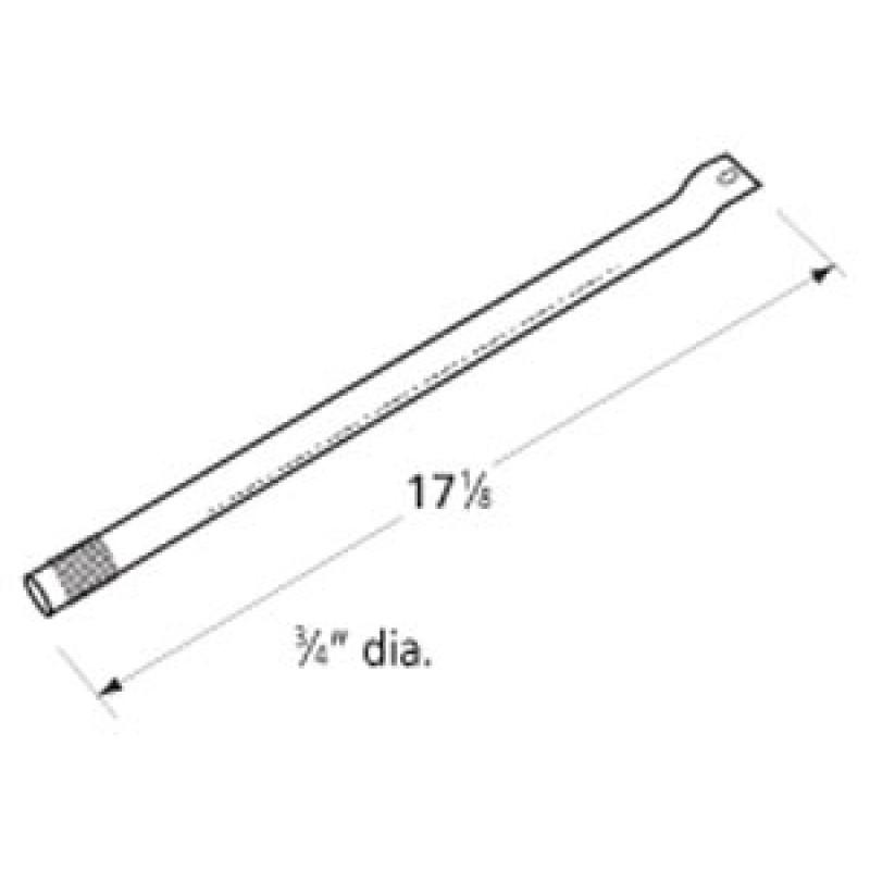 "9916731 Stainless Steel Burner 17.125"" x 0.75"""