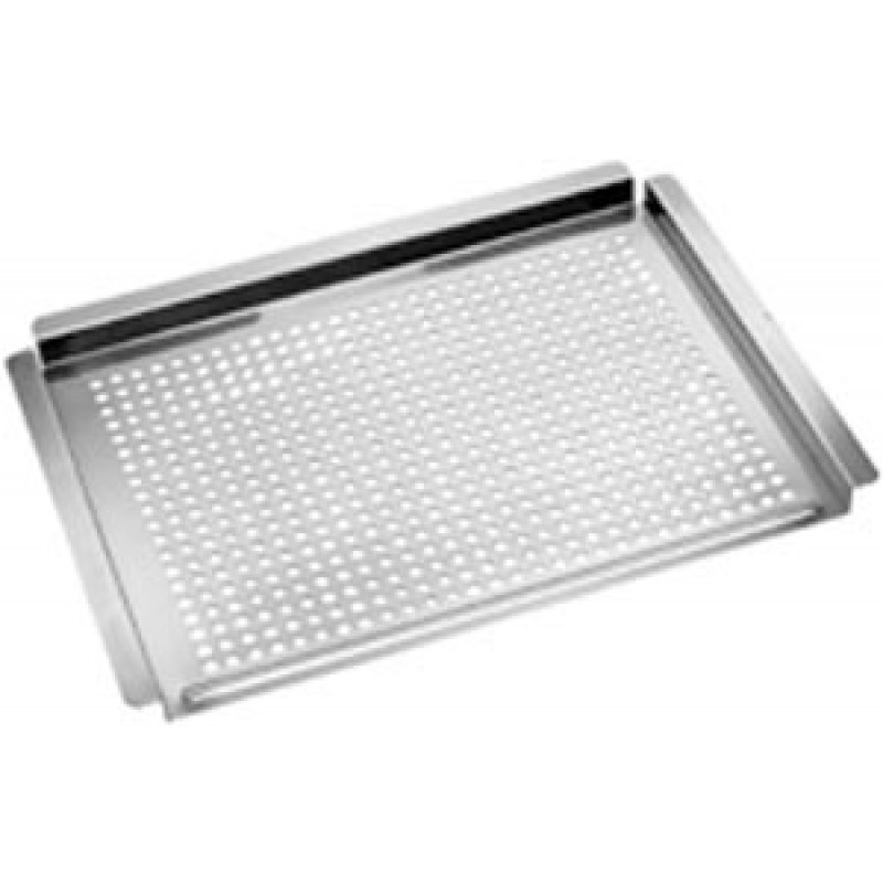 9919401 Flat Stainless Steel Topper, 14in X 11in