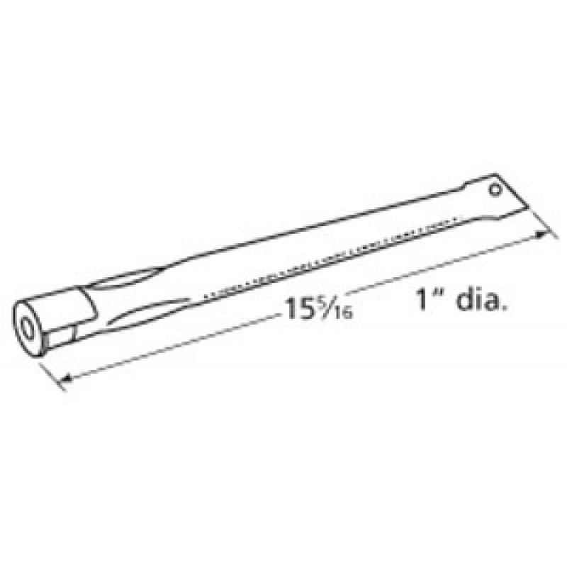 "9919521 Stainless Steel Burner 15.3125"" x 1"""
