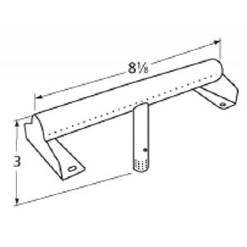"9919551 Stainless Steel Burner 8.125"" x 3"""