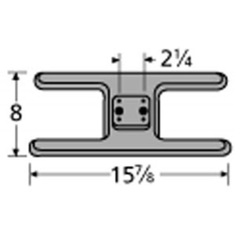 "0040 3994 Sunbeam Cast Iron Burner 15.875"" x 8"""