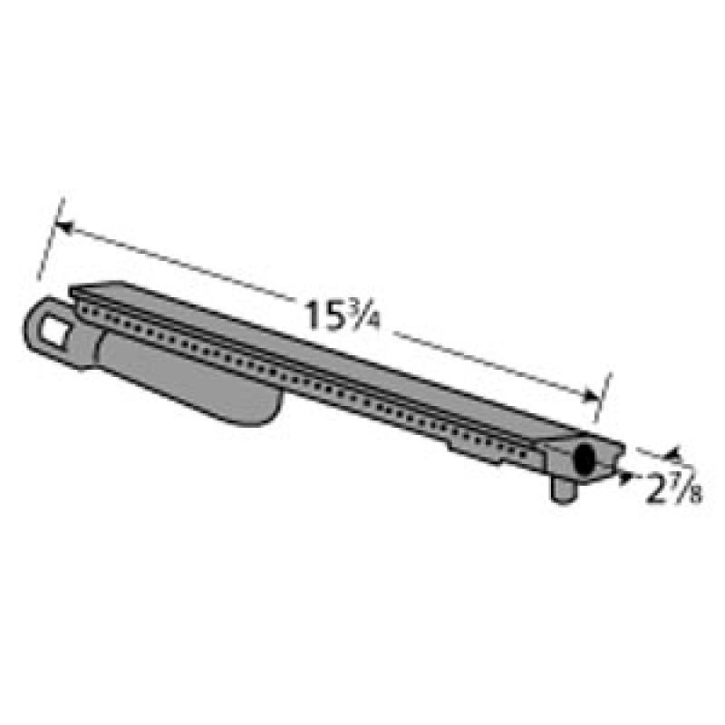 """80000431 Charbroil Cast Iron Burner 15.75"""" x 2.875"""""""