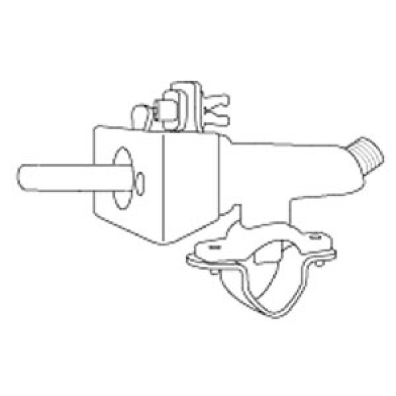 9930740 Valve, Clamp-On, With Mounting Bracket And Ignition Switch