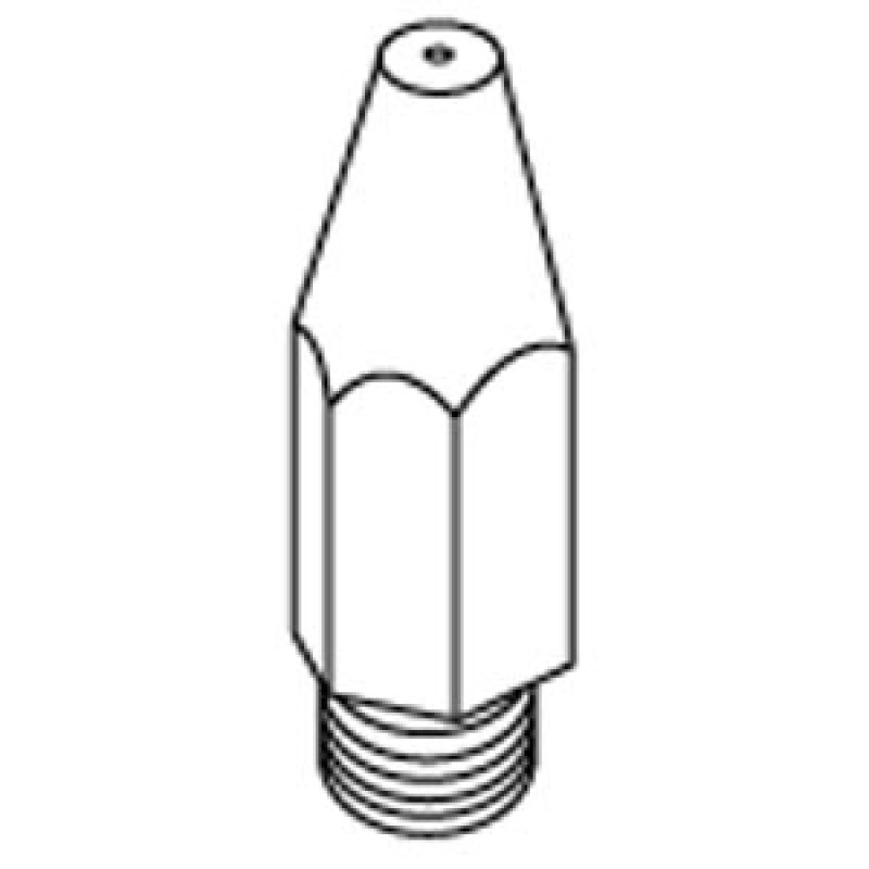 9931400 6Mm X 0.75in Cone Shaped Orifice, #64 Drill