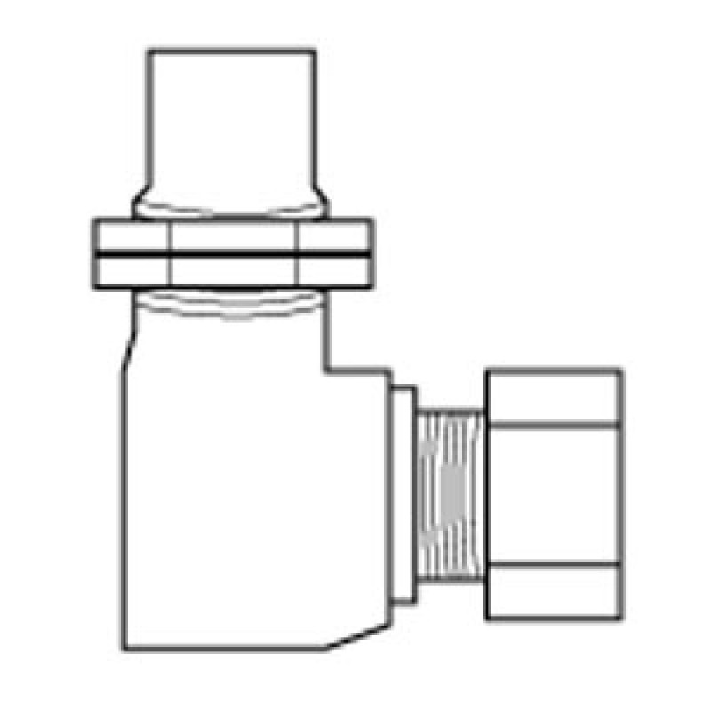 9933900 90-Degree Orifice Elbow With 0.25in Compression Fitting