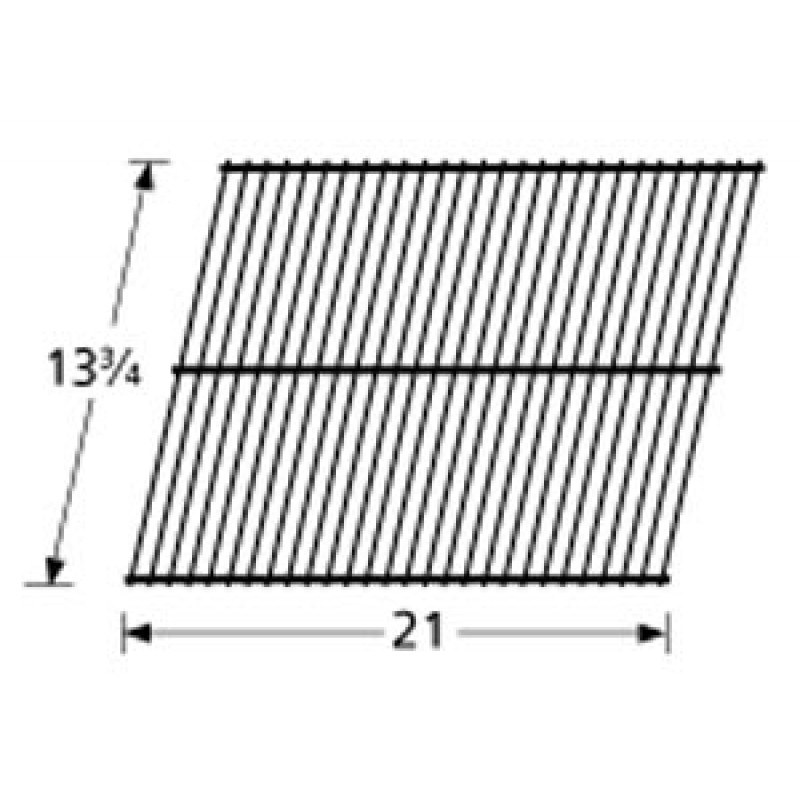 "9940701 Chrome Steel Wire Cooking Grid 13.75"" x 21"""