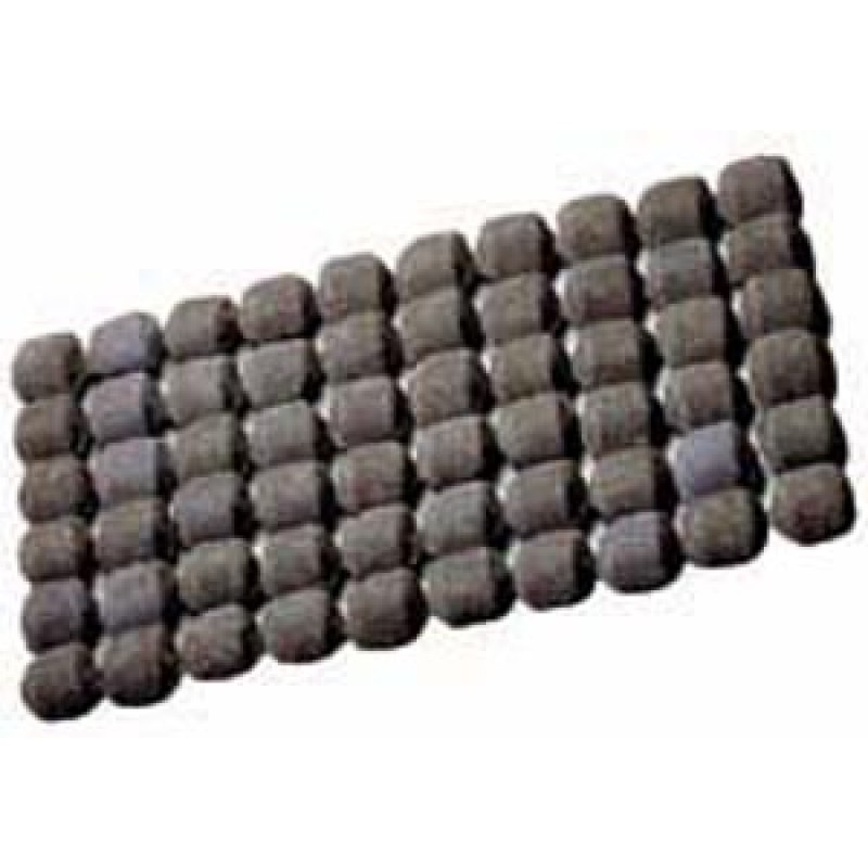9941070 Ceramic Briquettes. 60 Briquette Shaped Ceramic Rocks For Even Heat Distribution. Sufficient Quantity For All Full Sized Grills.