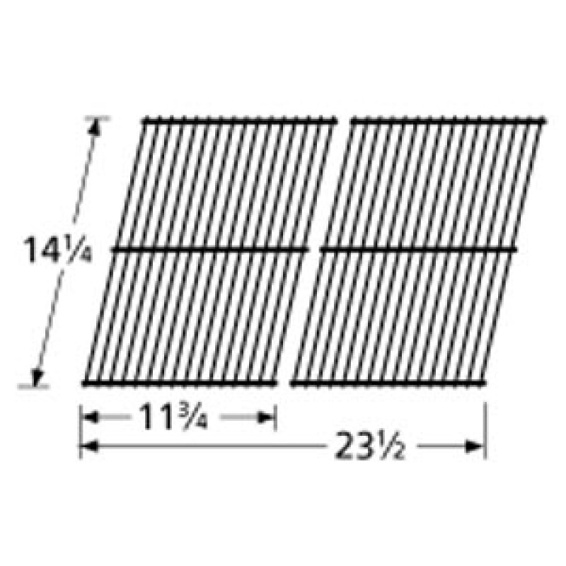 "9941102 Chrome Steel Wire Cooking Grid 14.25"" x 23.5"""