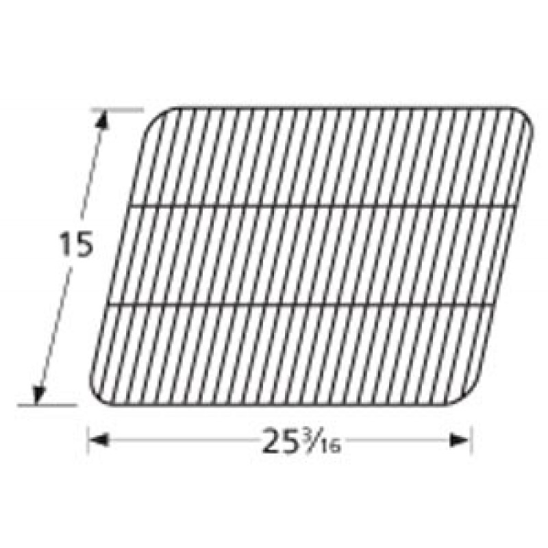 "9950081 Porcelain Steel Wire Cooking Grid 15"" x 25.1875"""