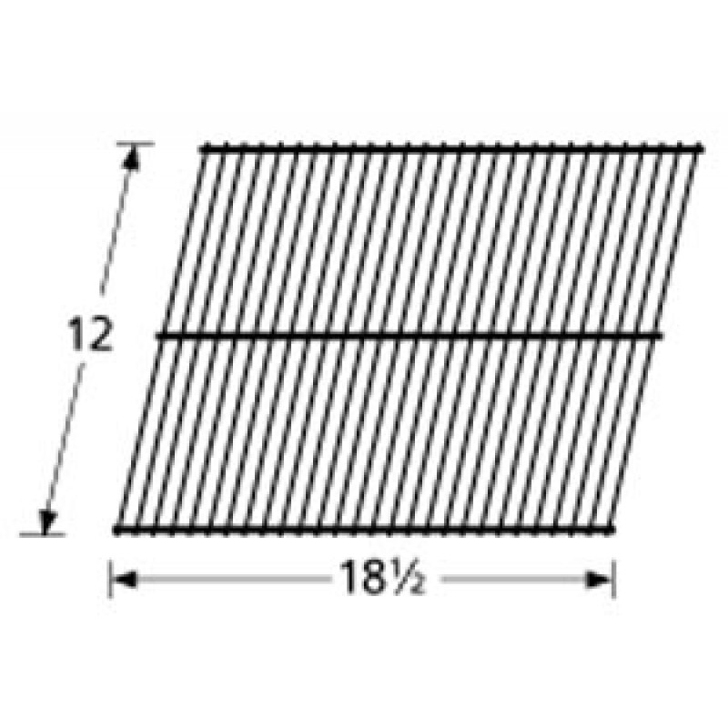 """9950101 Porcelain Steel Wire Cooking Grid 12"""" x 18.5"""""""