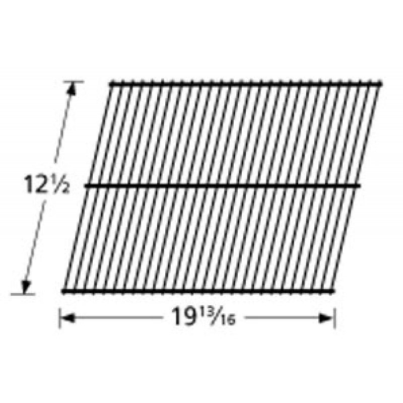 """0416 0108 Grill Master Porcelain Steel Wire Cooking Grid 12.5"""" x 19.8125"""""""