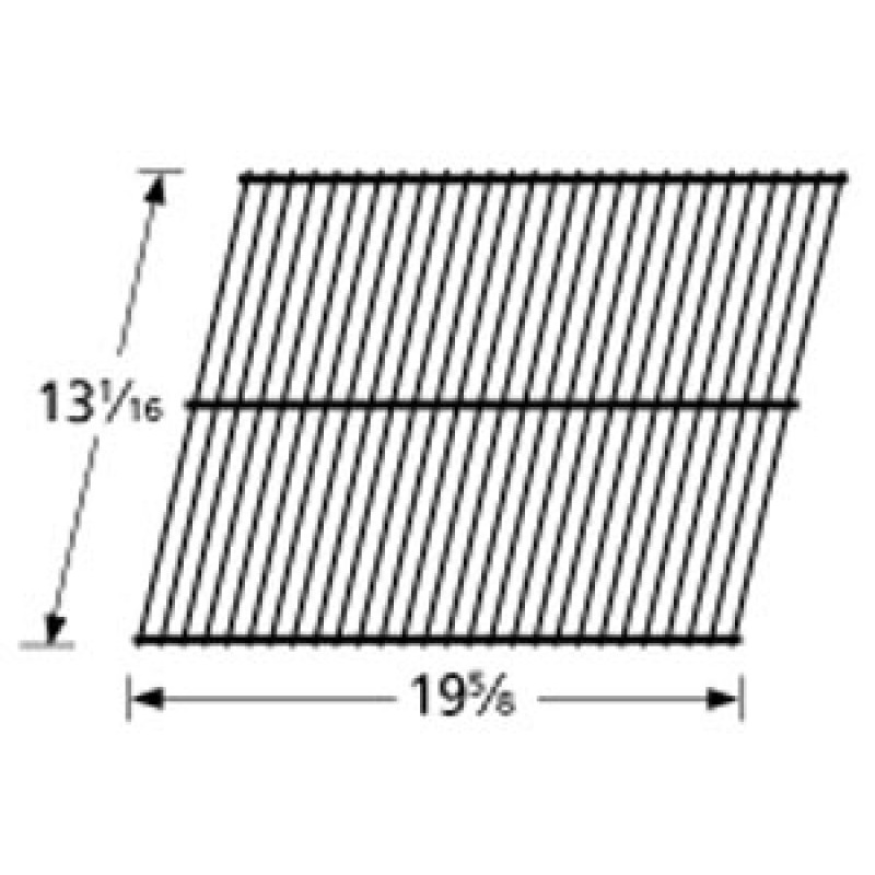 "9950301 Porcelain Steel Wire Cooking Grid 13.0625"" x 19.625"""