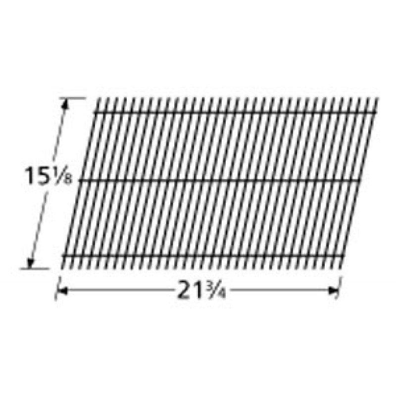"AZ001601 Great Outdoors Porcelain Steel Wire Cooking Grid 15.125"" x 21.75"""