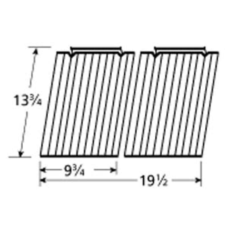 "9950502 Porcelain Steel Wire Cooking Grid 13.75"" x 19.5"""