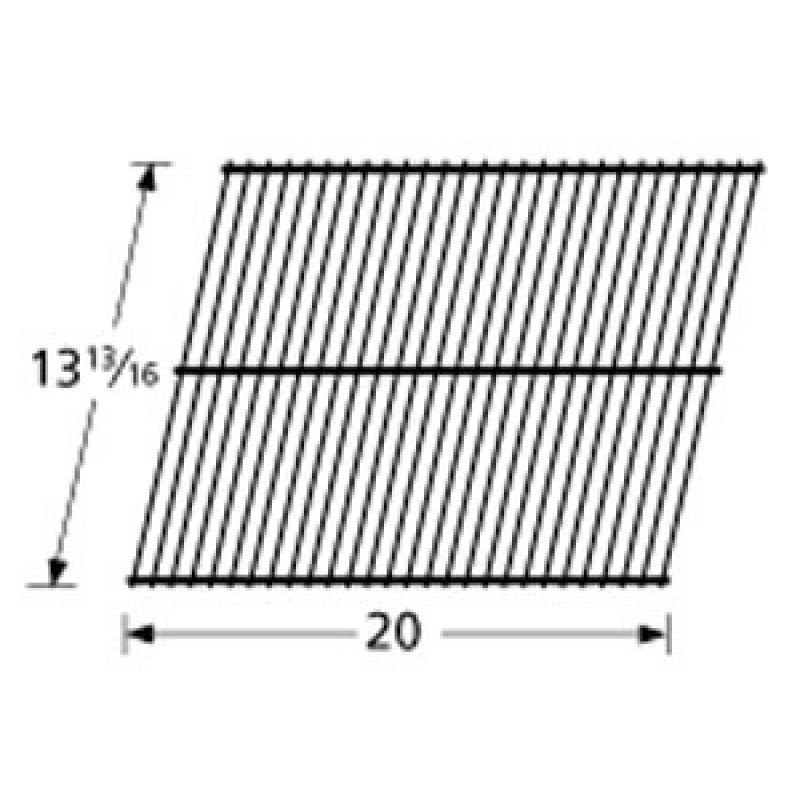 """9950601 Porcelain Steel Wire Cooking Grid 13.8125"""" x 20"""""""