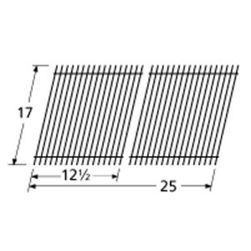 """9951022 Porcelain Steel Wire Cooking Grid 17"""" x 25"""""""