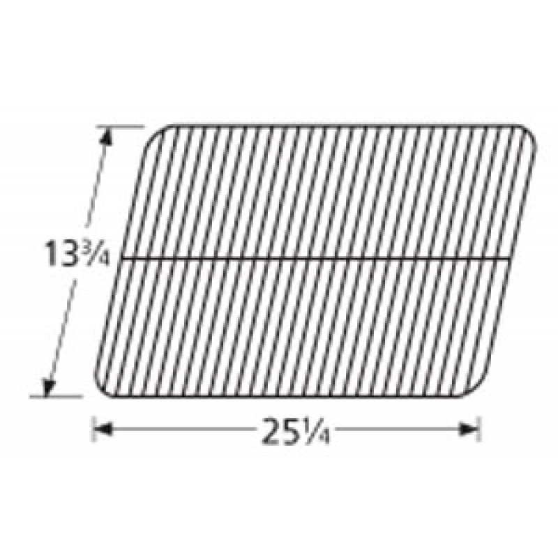 "9951051 Porcelain Steel Wire Cooking Grid 13.75"" x 25.25"""