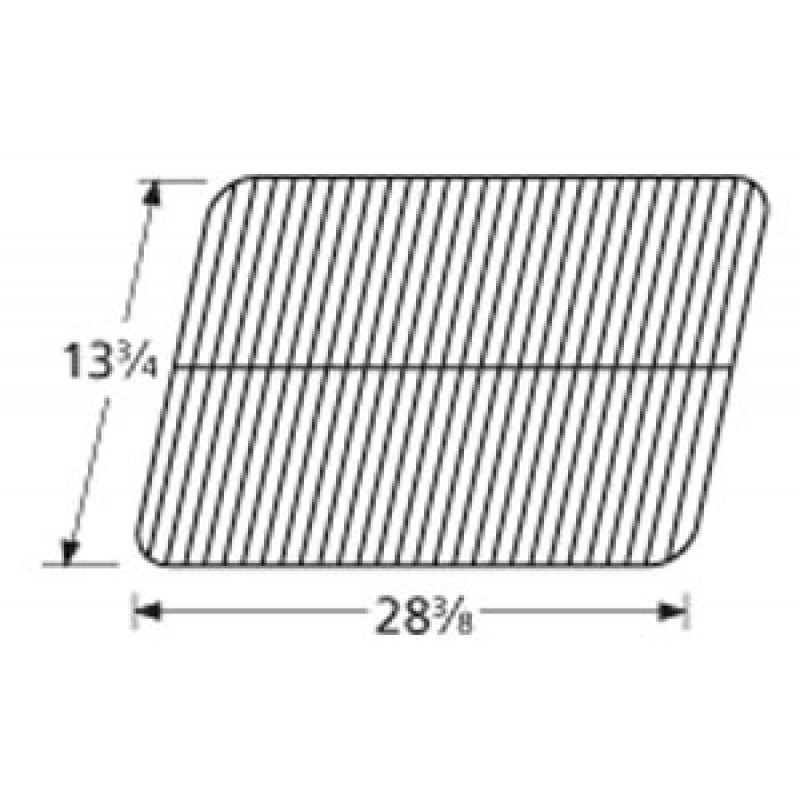 """9951091 Porcelain Steel Wire Cooking Grid 13.75"""" x 28.375"""""""