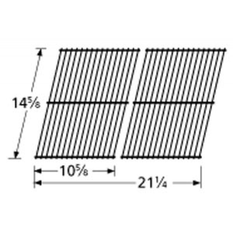 "0416 0109 Charmglow Porcelain Steel Wire Cooking Grid 14.625"" x 21.25"""