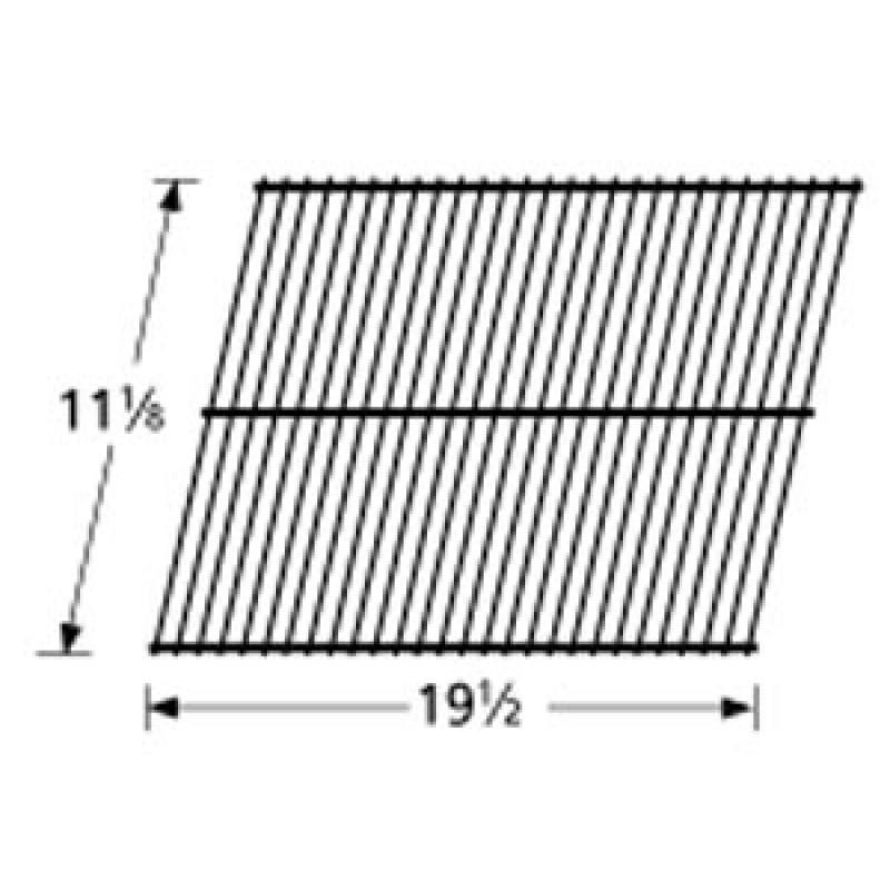"40 3261 Sunbeam Porcelain Steel Wire Cooking Grid 11.125"" x 19.5"""