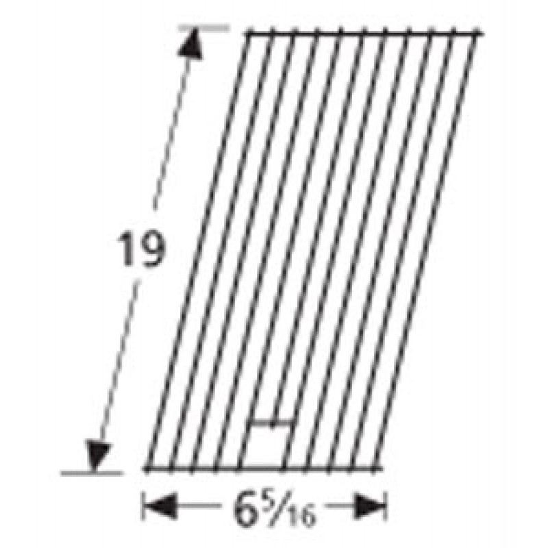 "9951631 Porcelain Steel Wire Cooking Grid 19"" x 6.3125"""