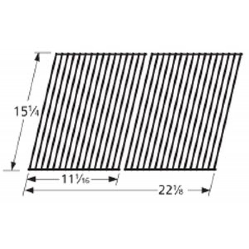 "9951652 Porcelain Steel Wire Cooking Grid 15.25"" x 22.125"""