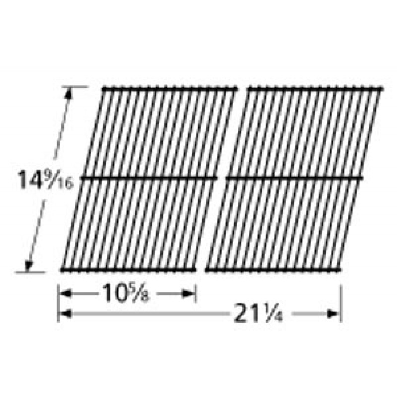 "9951702 Porcelain Steel Wire Cooking Grid 14.5625"" x 21.25"""