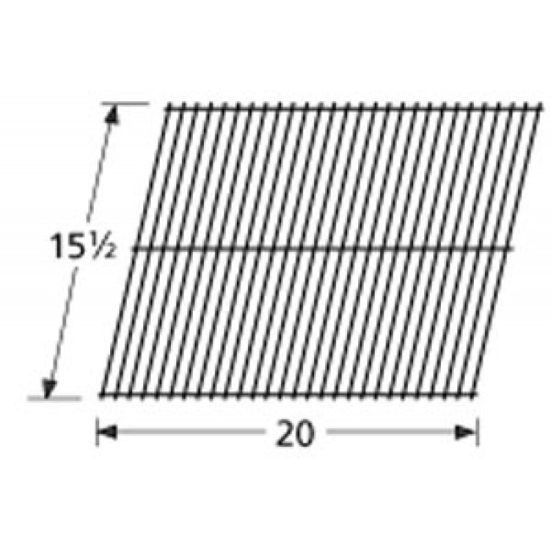 "9953001 Porcelain Steel Wire Cooking Grid 15.5"" x 20"""